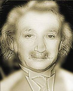 Einstein-Marilyn Monroe optical illusion
